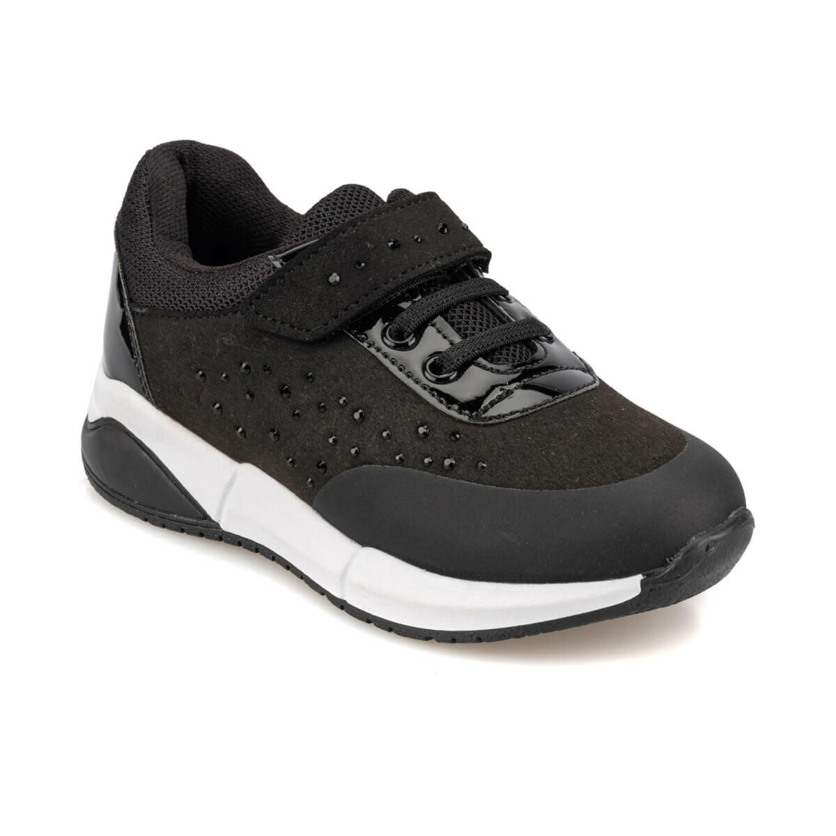 FLO 92.509591.P Black Female Child Sports Shoes Polaris