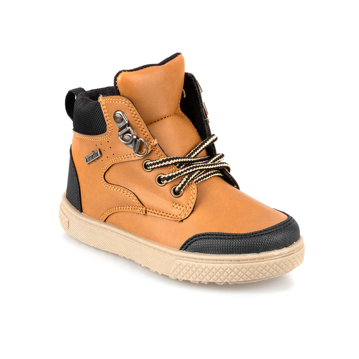FLO PORCIN HI 9PR Tan Male Child Sneaker Shoes KINETIX