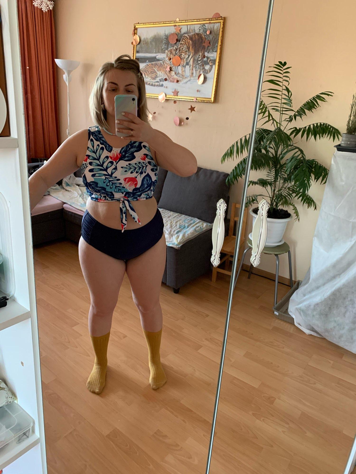 High Waist Bikini Leopard Swimsuit Women Bikini 2021 Floral Swimsuit Print High Neck Bikini Push Up Swimwear Snake Bathing Suit|Bikini Set|   - AliExpress