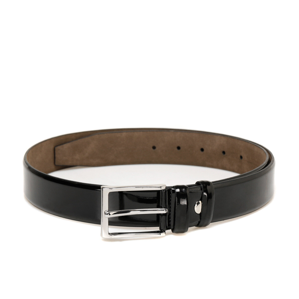FLO 20M BR RGN 03 Black Male Belt Garamond