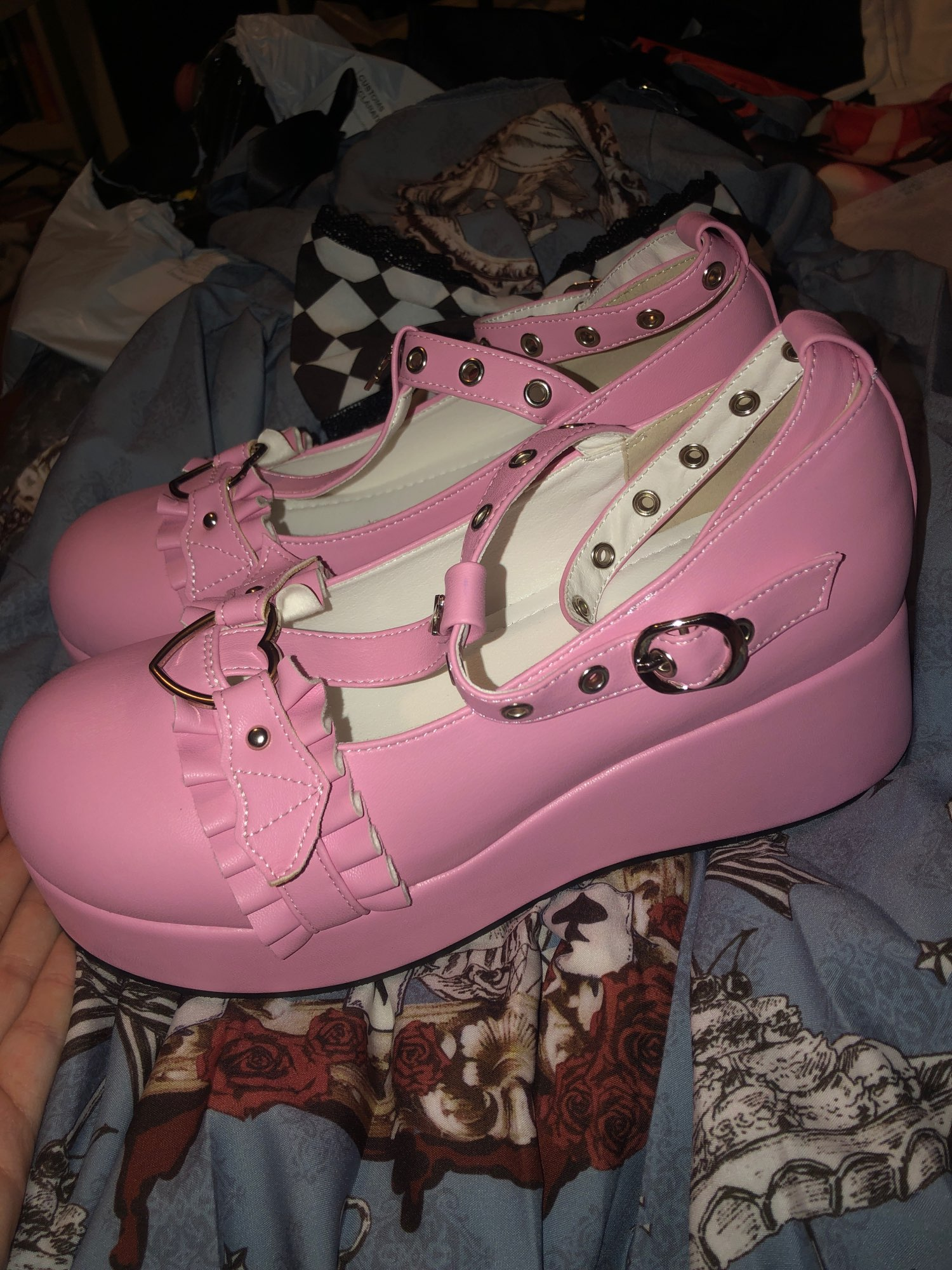Lolita Kawaii Shoes photo review