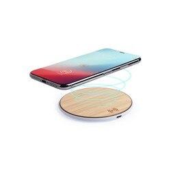 Bezprzewodowa ładowarka qi do smartfonów USB Bamboo 146182 w Ładowarki do tabletów od Komputer i biuro na