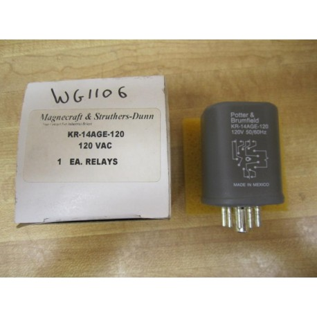 KR-14AGE-120 Electromechanical Relay KR14AGE120