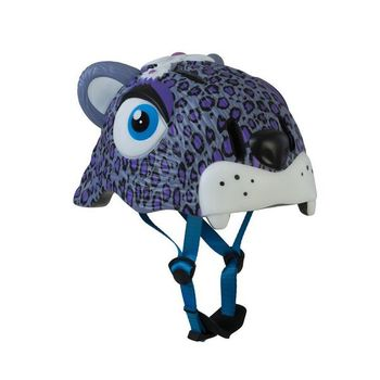 Children's Cycling Helmet Crazy Safety Leopard Led (Size s)