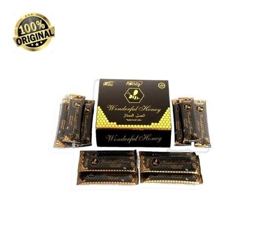 %100 Original Wonderful Honey Vip Dose Vital Men Sexual Increase Original Herbal Natural Aphrodisiac 15 Gr 12 Sachets