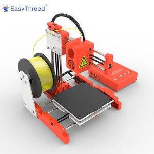 Image 5 - طابعة EasyThreed صغيرة ثلاثية الأبعاد رخيصة PLA الراتنج FDM صغيرة Impressora ثلاثية الأبعاد البرازيل الروسية اليورو مستودع impresora ثلاثية الأبعاد Imprimante X1