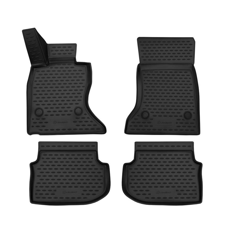 3D Mats In The Interior For BMW 5 (F10), 2010-2013. NLC.3D. 05.32.210k