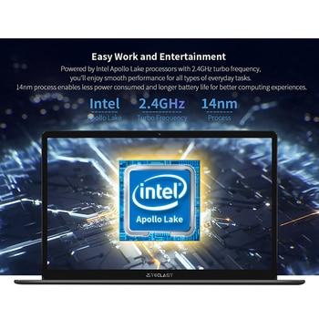 Newest Teclast F6S Laptop 13.3″ Wins10 notebook 1920×1080 IPS Intel Apollo Lake 8GB LPDDR4 128GB SSD Notebook 1.28KG Mini-HDMI 5