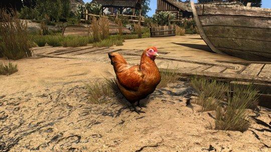 《巫师3》动物高清Mod 猫鸡牛等变得栩栩如生插图(2)
