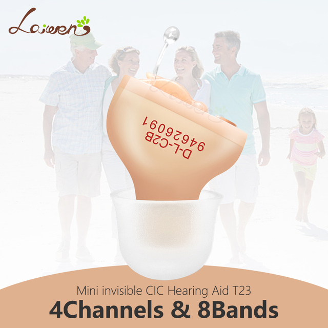 T3 Beste Hörgeräte Digitale 4 Kanäle Unsichtbare Hörgerät Ohr Sound Verstärker Die Ältere Dropshipping