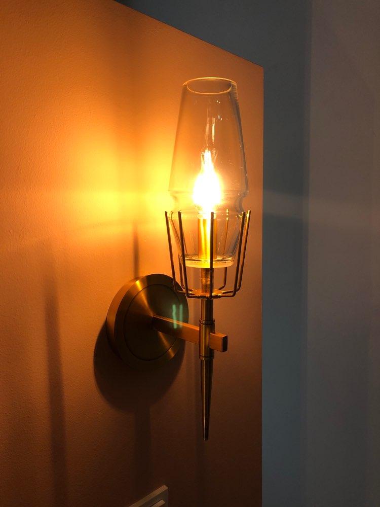 Luminárias de parede Parede Cabeça Personalidade