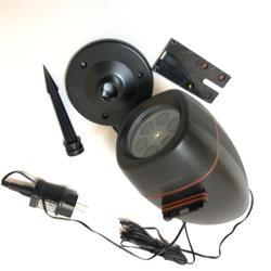 Звездный лазерный проектор светильник Piug-in card liawn lamp