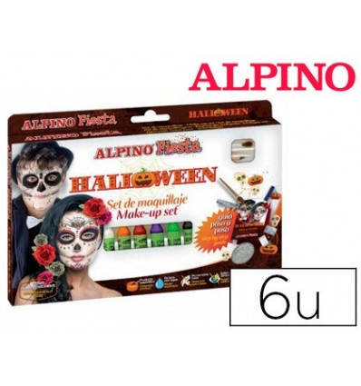MAKEUP BAR ALPINE HALLOWEEN 6 COLORS ASSORTED