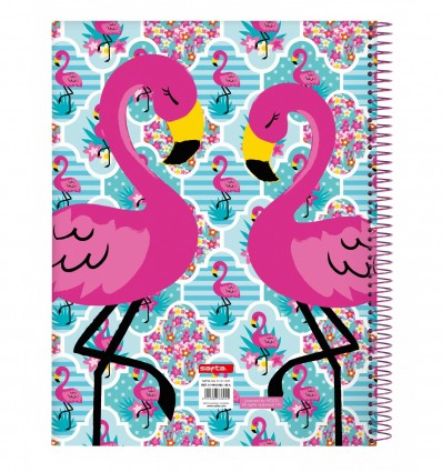 NOTEPAD A4 MICRO120 H MOOS FLAMINGO TURQUO