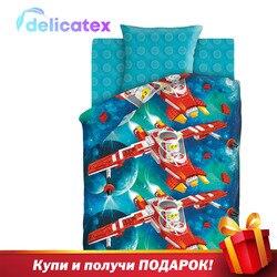 Bettwäsche Sets Delicatex 8738 + 8739 Konstruktor Home Textil bettwäsche leinen Kissen Abdeckungen Bettbezug Рillowcase baby stoßstangen sets für kinder Baumwolle