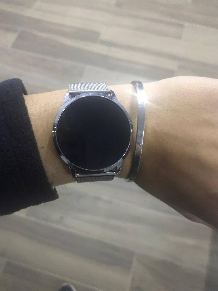 RUNDOING Q8 Smart Watch OLED Color Screen Smartwatch women Fashion Fitness Tracker Heart Rate monitor|Smart Watches| |  - AliExpress