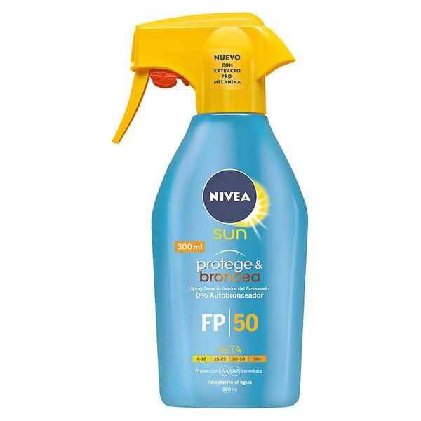 Spray Sonne Protector Protege & Broncea Nivea SPF 50 (300 ml)