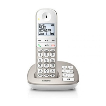 """Wireless Phone Philips XL4951S/23 1,9"""" DECT White"""
