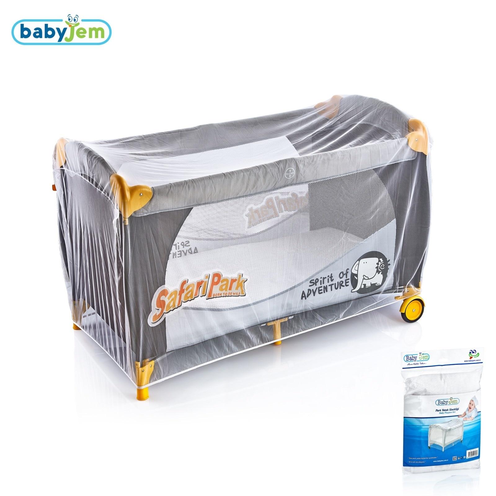 Ebebek Babyjem Baby Playard Net White