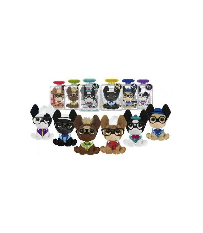 Plush Trendy Dogs Assorted 27x10x18 Toy Store