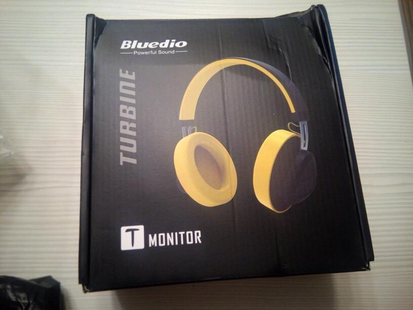 Bluedio wireless headphone TM Bluetooth 5.0 headset Over ear monitor studio headset for phone music earphone voice control-in Bluetooth Earphones & Headphones from Consumer Electronics on AliExpress