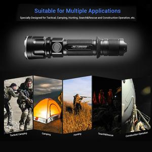 Image 5 - JETBeam IIIMR 2000LM גבוהה כוח LED צבאי משטרת פנס USB נטענת טקטי משטרת פנס לפיד