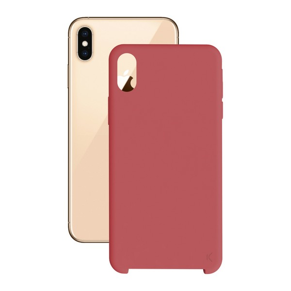 Mobile cover Iphone Xs Max KSIX Soft Red|  - title=