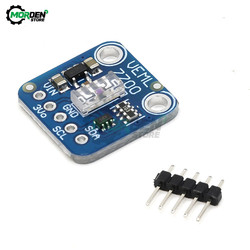 VEML7700 3.3-5V Ambient Light Sensor Module I2C Interface 16 Bits Light Lux Measuring for Arduino Raspberry Pi Microcontroller