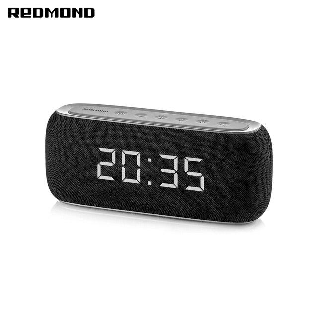 Колонка портативная беспроводная REDMOND Sound Clock