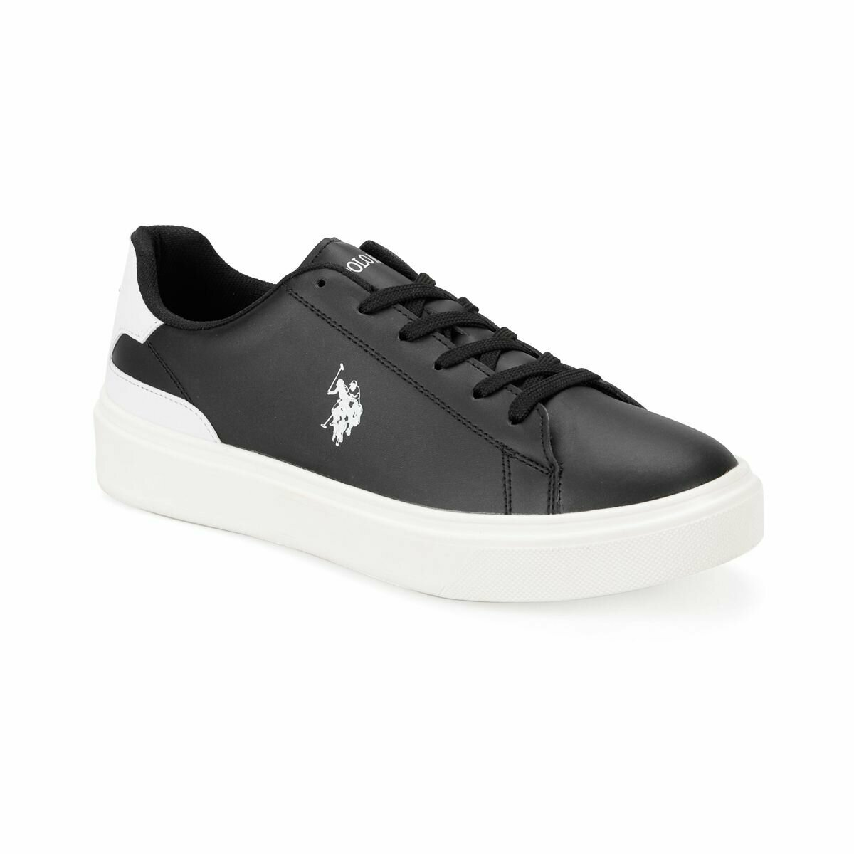 FLO DUKA Black Men 'S Sneaker Shoes U.S. POLO ASSN.