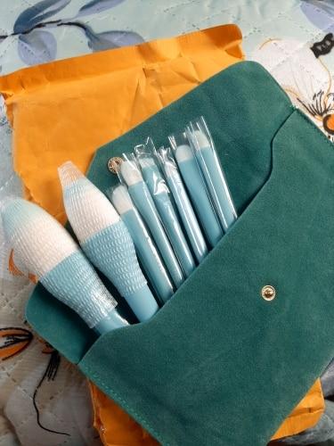 8PCS Makeup Brushes Sets Powder Foundation Blusher Eyeshadow Brush Candy Cosmetic Colorful Make Up NO MSQ LOGO With Bag reviews №1 156503