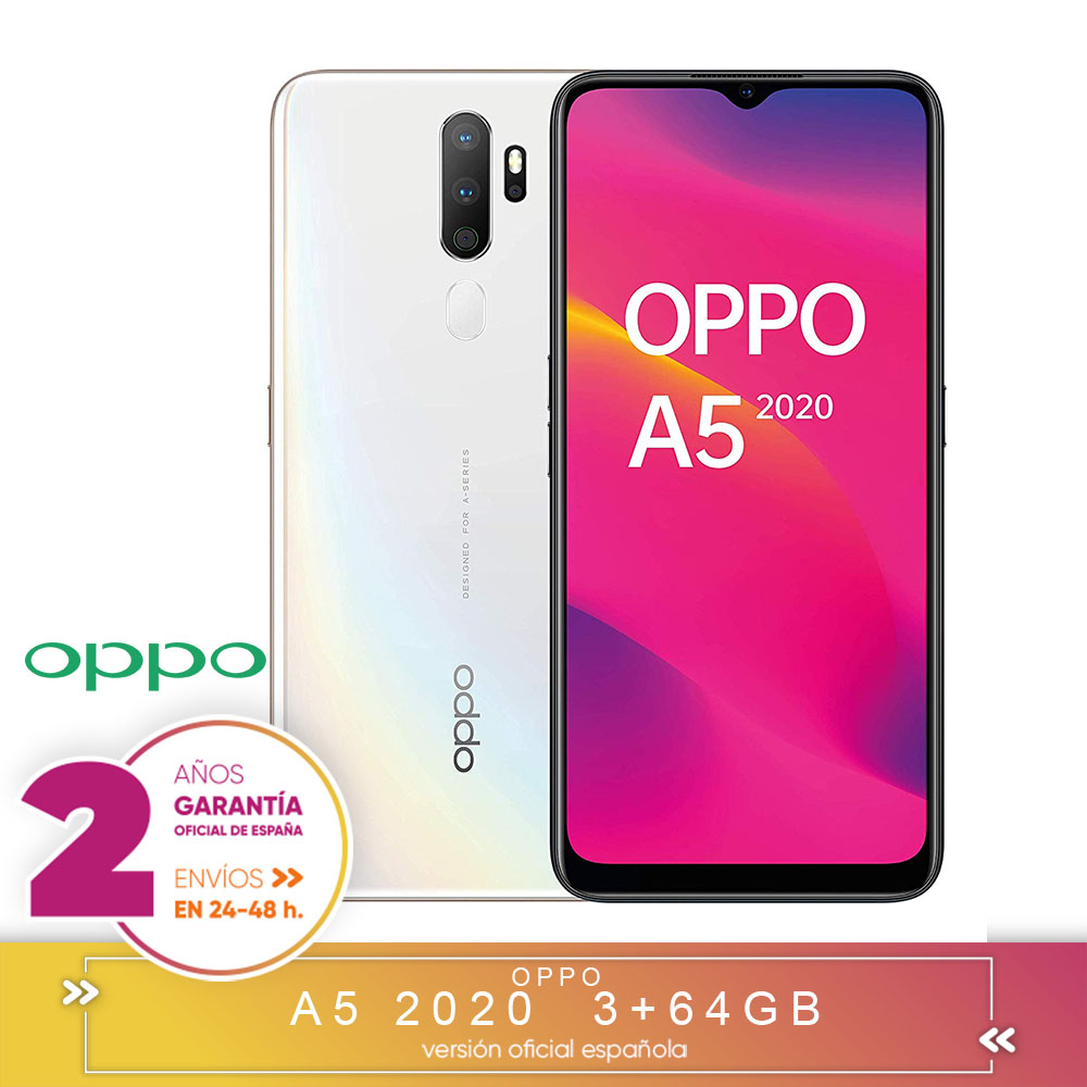 [Official Spanish Version Warranty] OPPO A5 2020-Smartphone 6.5
