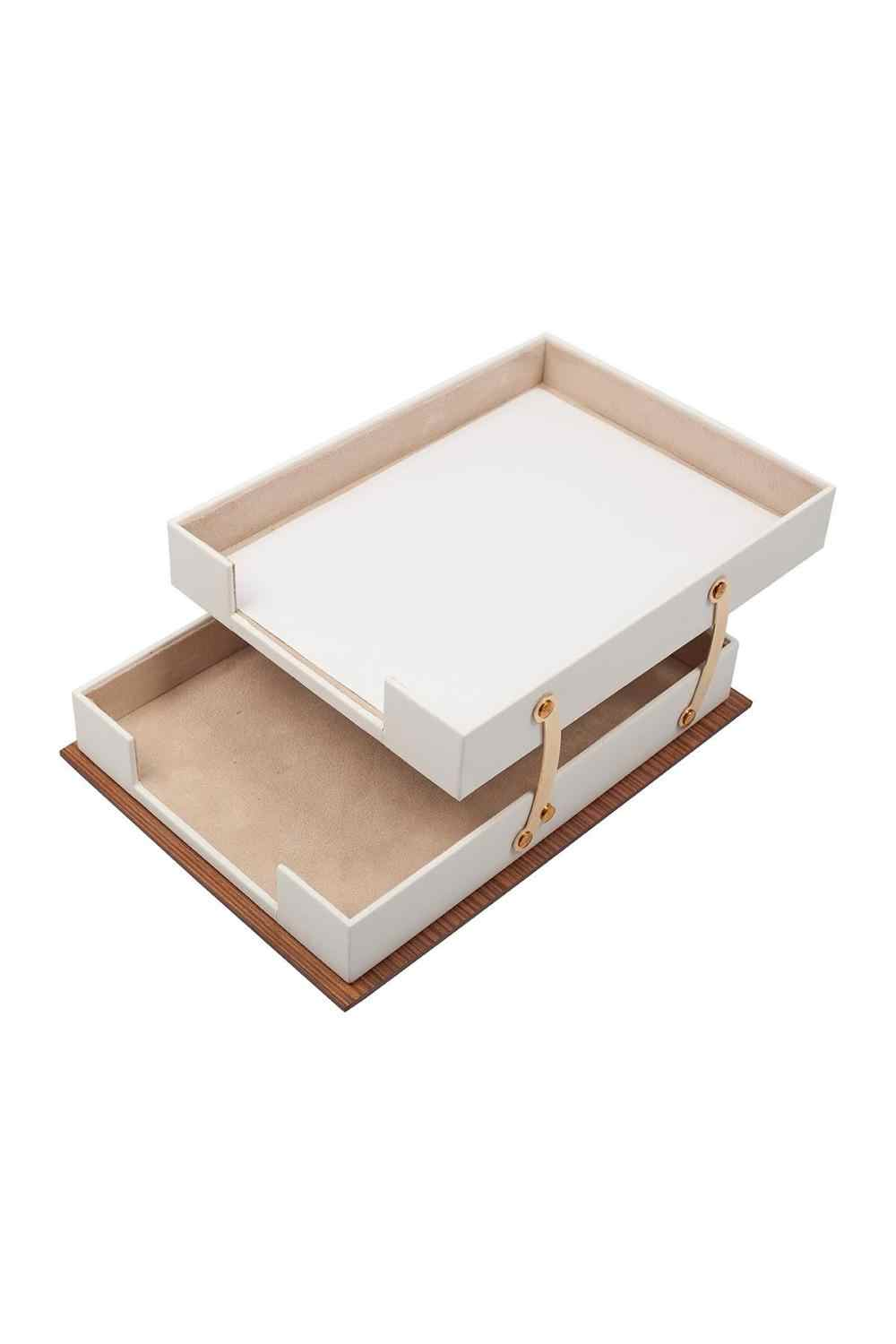 Star Luxury Leather Wooden 11 Pieces Desk Set With Double Document Tray Desk Organizer Office Accessories Desk Accessories Desk Set Aliexpress