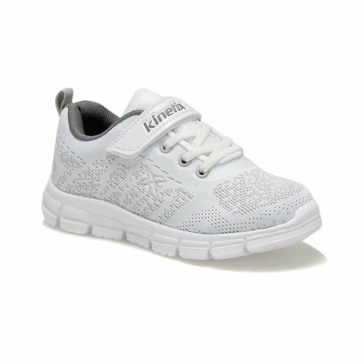 FLO ROXIE White Male Child Running Shoes KINETIX