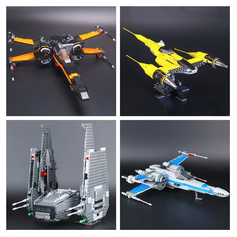 IN STOCK 05060 05004 05029 05006 Star Plan X wing Fighter Building Block Bricks Children Gifts Compatible10026 75102 75149 75104-in Blocks from Toys & Hobbies