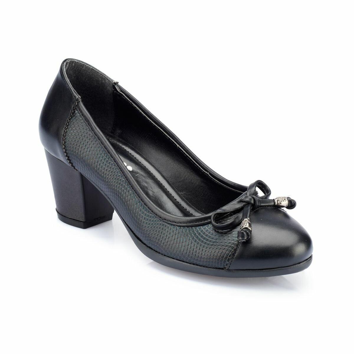 FLO Women Shoes Black Fashion Low Heeled Casual Classic Dress Women Female Footwear Shoes Женская обувь 82.312088.Z Polaris