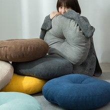 Japan Hassock Chair Seat Cushion Pad Round Thickened Tatami Prayer Mat Pouf Futon Thicken Round Futon Seat Cushion