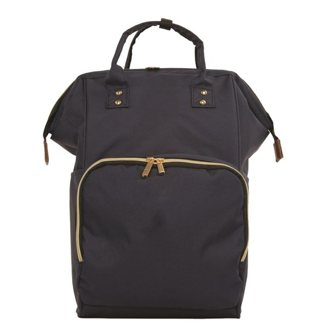 Navy blue Mother Baby Backpack