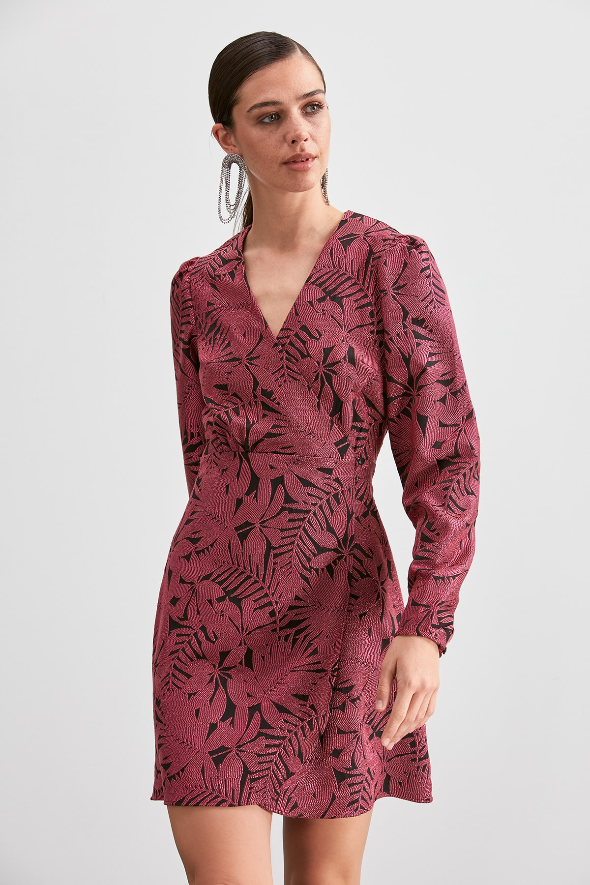 Trendyol Jacquard Dress TPRAW20EL2221