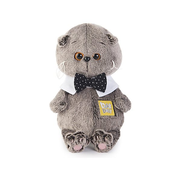Soft Toy Budi Basa Cat Basik Baby In The Collar, 20 Cm MTpromo