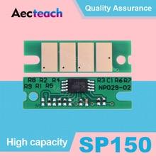 Aecteach SP 150 Тонер чип черного цвета для Ricoh sp 150 150SU 150w 150SUw SP150 SP150su sp150w sp150suw заправка порошка сброс настроек чипы
