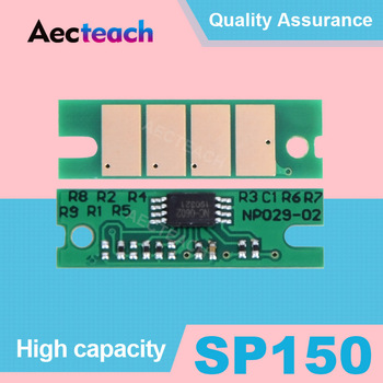 Aecteach SP 150 Toner Chip Black For Ricoh sp 150 150SU 150w 150SUw SP150 SP150su sp150w sp150suw Powder Refill Reset Chips image