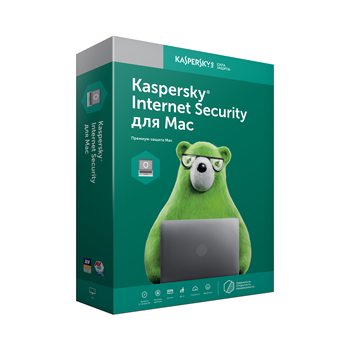 Kaspersky Internet Security for macOS Russian Edition license base 1 PC 1 year download pack kl1230rdafs