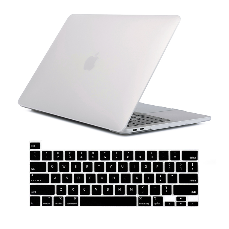 Image 2 - For New MacBook Pro 16 Case 2019 Release A2142 Laptop Bag Case  for Mac Book Pro 16 with Touch ID Touch Bar   US Keyboard CoverLaptop  Bags