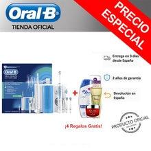 Oral B PRO 900 + Irrigador Oxyjet-Estación De Cuidado Bucal Tecnología de microburbujas y Cepillo de dientes Eléctrico