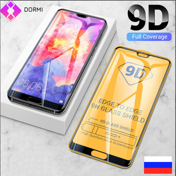 10 Pcs/Lot 9D Screen Protector Glass For Huawei Honor 9 10 Lite V9 V10 8X 8A 8C Honor 20i 9i 10I V20 tempered protective film