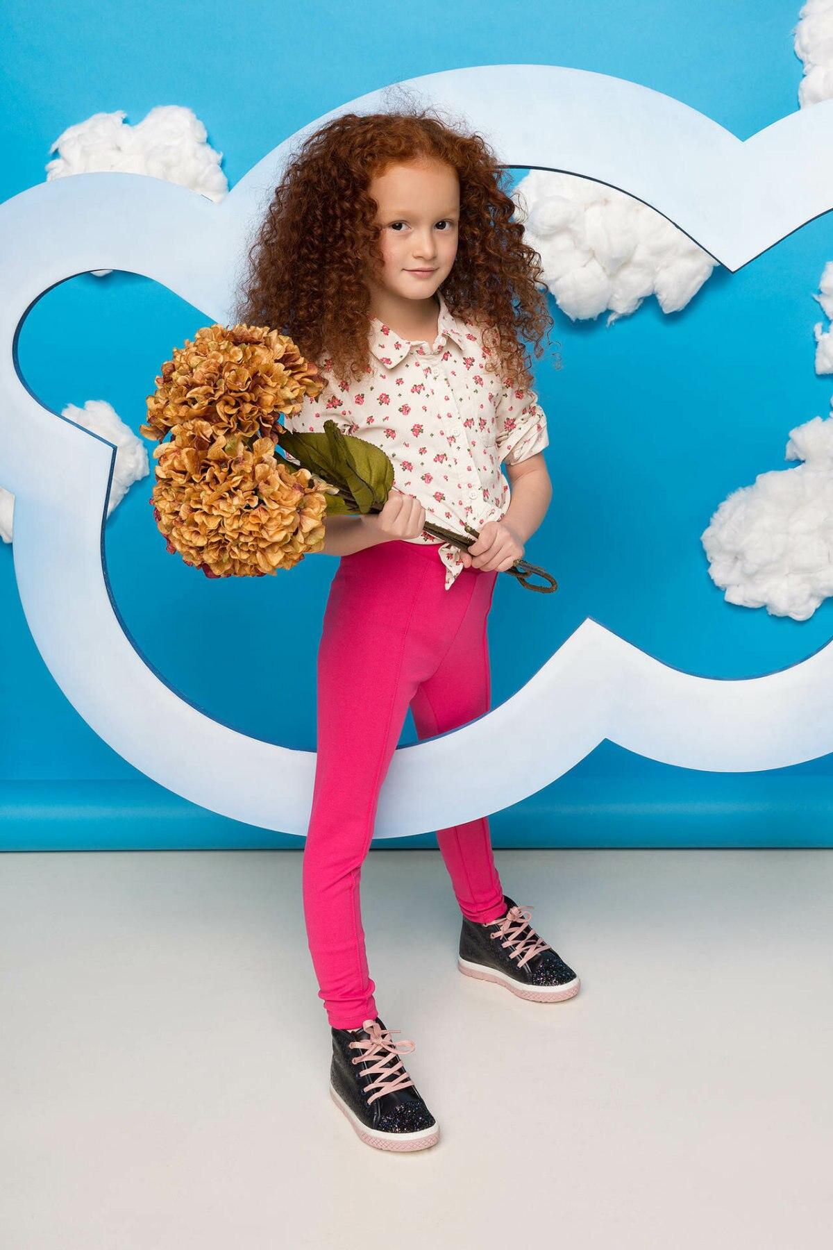 DeFacto Girl Fashion Casual Leggings Kids High Elastic Long Pants Comfortable Long Pants - H4380A417AU