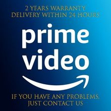 AMAZON PRIME – vidéo 1 an, avec garantie privée, fonctionne sur IOS, Android, tablette, PC, SMART TV
