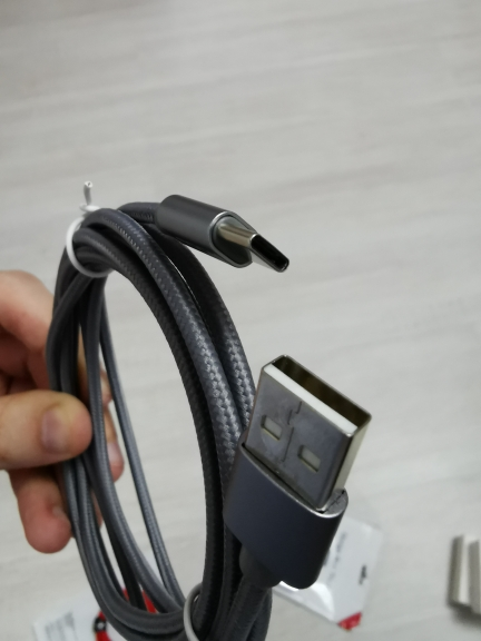 ROCK 3A 3.0 Type C Cable for Xiaomi Samsung Galaxy S8 OnePlus Nexus Nylon braid Charge Sync USB C Fast Charging USB C Charger|Mobile Phone Cables| |  - AliExpress