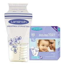 Pouches Breastmilk Storage-Bags Lansinoh Pp Pack Protect Double-Zipper-Seal Freeze 6-Months